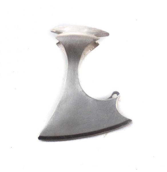 Anhänger Helmdach-Axt Silber