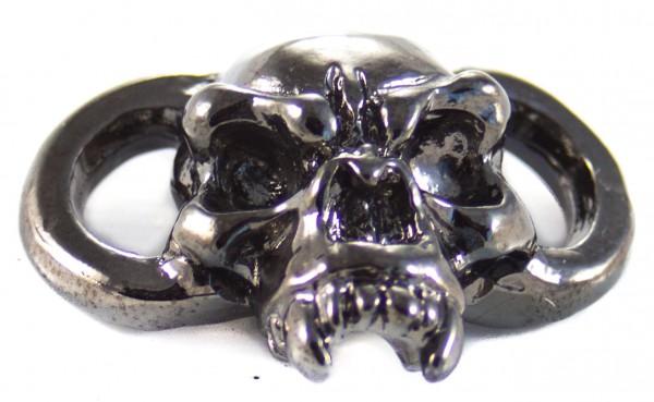 Fang Boot Lace Bracelet Skull Hämatit