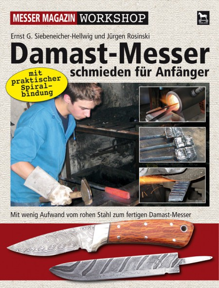 Buch Workshop Damast-Messer schmieden (für Anfänger)