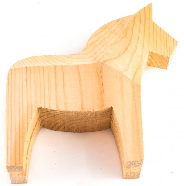 Dala-Pferd 15cm Rohling