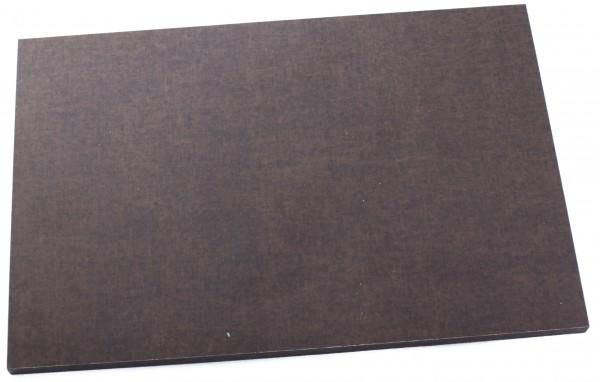 Leinen-Micarta earth brown black Platte 8mm