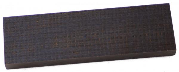 Jute Micarta oliv-braun, Griffschalenpaar 10mm