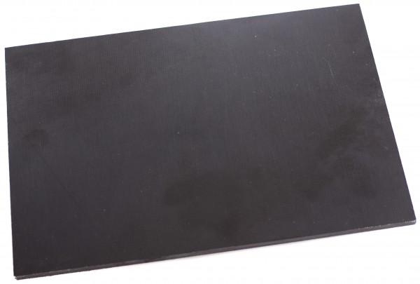 Canvas Micarta schwarz Platte 6mm