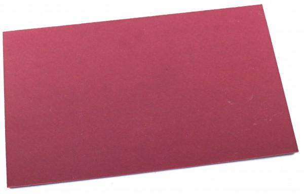 Vulcanfiber rot 0,8mm / große Platte