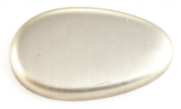 Endkappe Neusilber 55x33mm