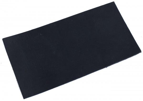 Blankleder schwarz ca. 3,0mm (250x125mm)