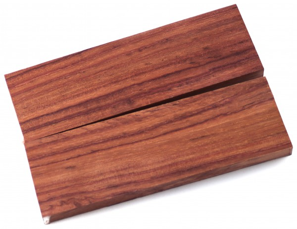 Holz Black Poison Wood, Griffschalenpaar