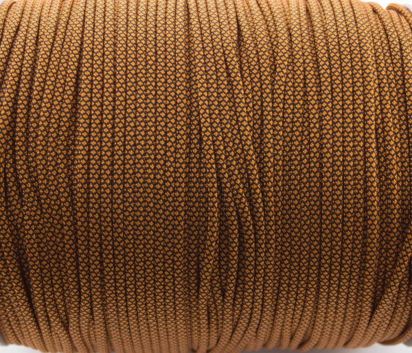 Paracord 550 - 5m Golden rod Diamonds