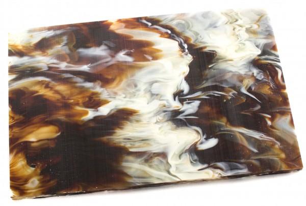 Acryl Platte 10mm Marmor