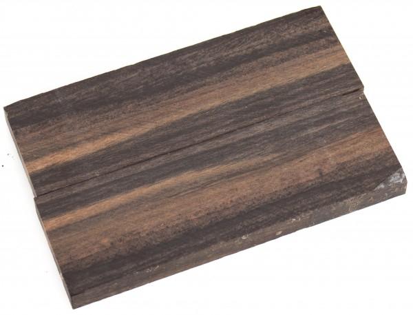 Holz Ebenholz, Griffschalenpaar