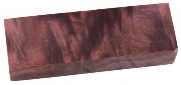 Raffir® stabilisiertes geflammtes Pappelholz purple (lila)