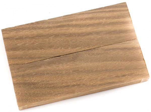 Holz Nussbaum amerikanisch, Griffschalenpaar