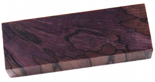 Raffir® stabilisierte Buche gestockt, cross cut purple