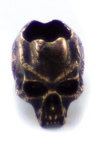 Cyber mini Skull Antik Bronze