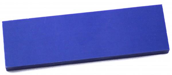 Leinen Micarta blau, Griffschalenpaar 9mm