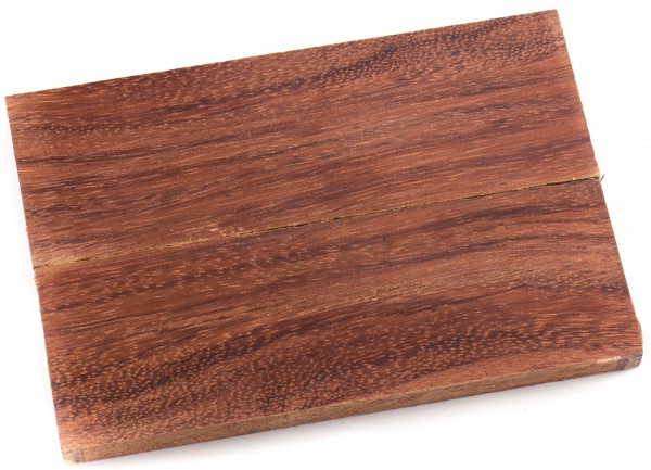 Holz Bubinga, Griffschalenpaar