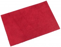Blankleder Stück Farbe, rot ca. 3,0mm (200x300mm)