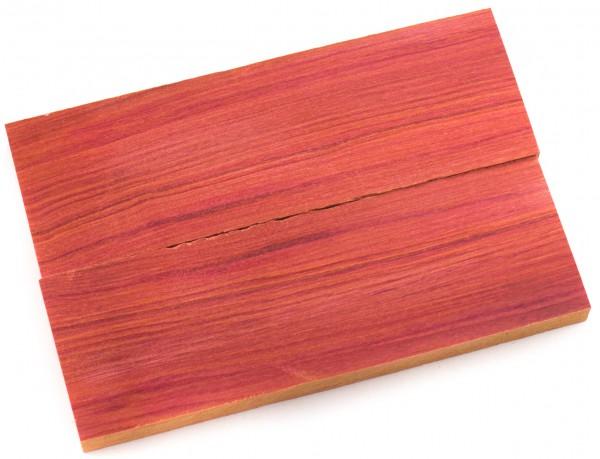 Holz Red Heart, Griffschalenpaar