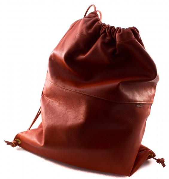 Rentierleder Umhänge - Rucksack einfach