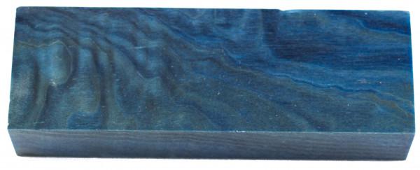 Raffir® stabilisiertes geflammtes Pappelholz blau