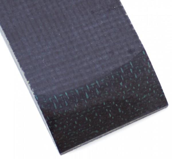 Jute Micarta schwarz, Griffschalenpaar 9mm