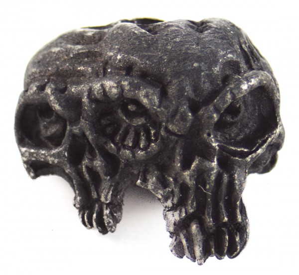 Gemini Twins Skull schwarz