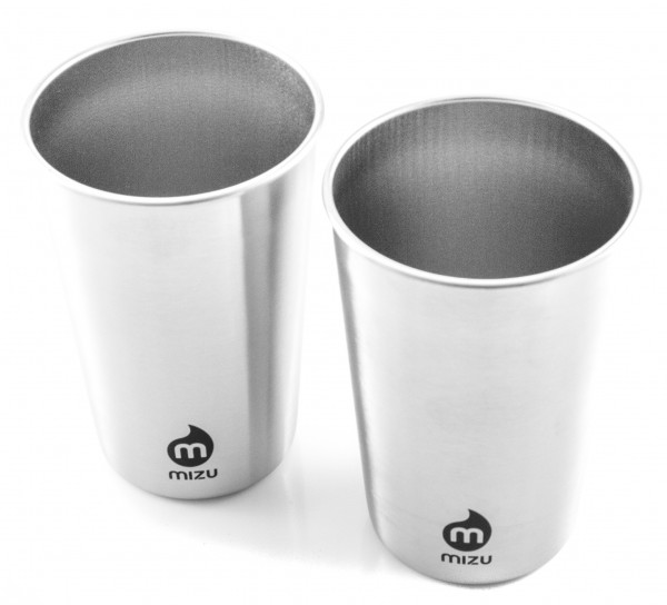 MIZU Party Cup Becher - Stainless (2er-Pack)