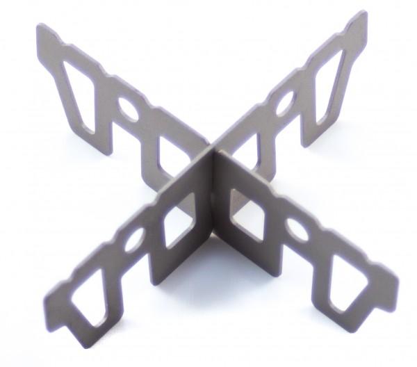 Titanium Aufsatz-Kreuz für Spiritus-Brenner
