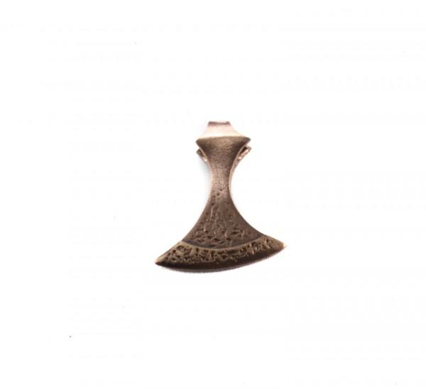 Anhänger Kronen-Axt Bronze