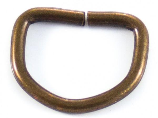 D-Ring (klein) antik