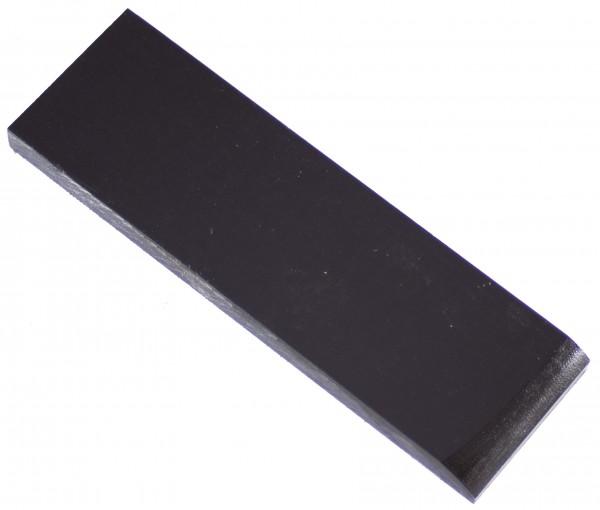Special-Micarta schwarz, Griffschalenpaar 8mm