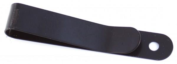 Gürtelclip klein, schwarz