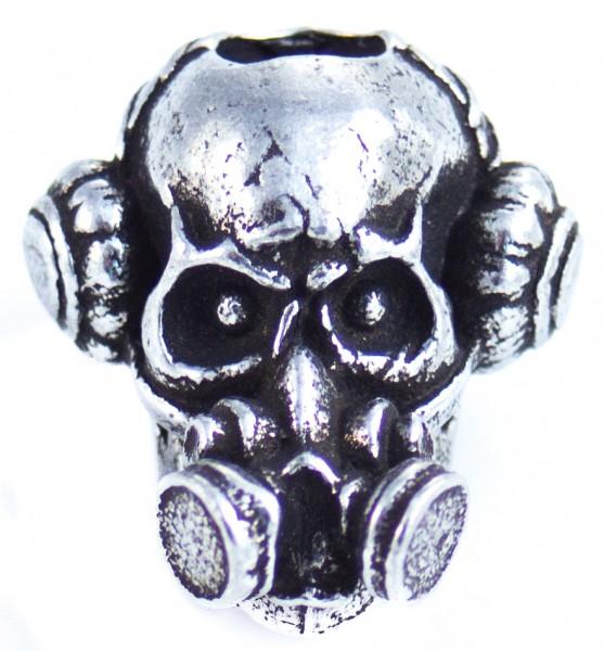 Brous Gas Mask Bead Zinn