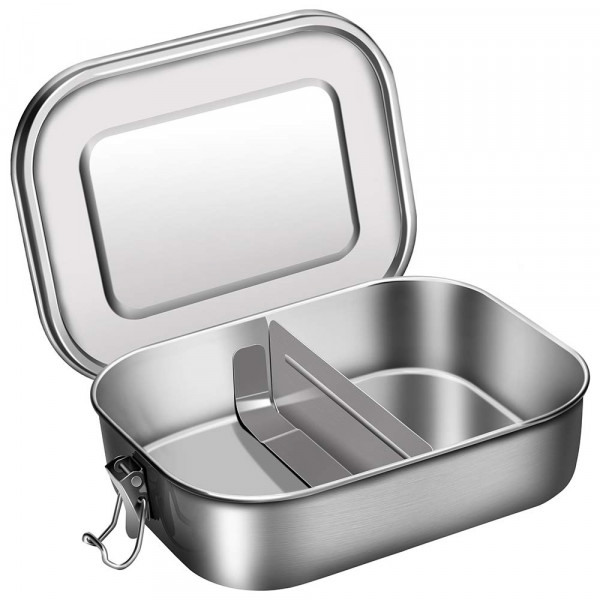 Origin Outdoors Lunchbox 'Deluxe' - Edelstahl 1,2 L
