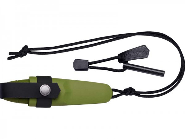 Morakniv Messer ELDRIS Neck-Knife inkl. Feuerstarter grün