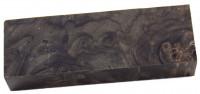 Raffir® stabilisiertes geflammtes Pappelholz schwarz