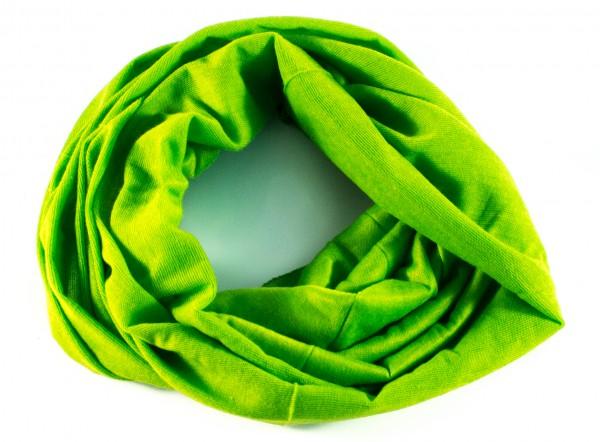 Rundschal grün