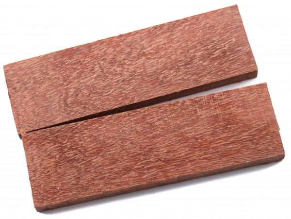 Holz Perlholz, Griffschalenpaar