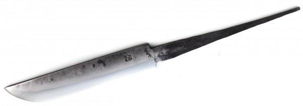 Messerklinge Mäkinen Leuku 150mm Kohlenstoffstahl, geschmiedet