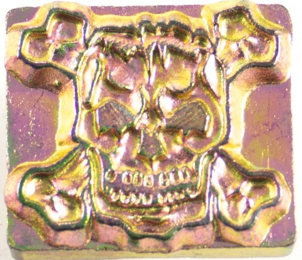 3-D Punze Totenkopf