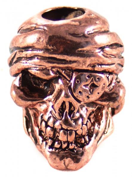 Pirat Skull Antik Kupfer