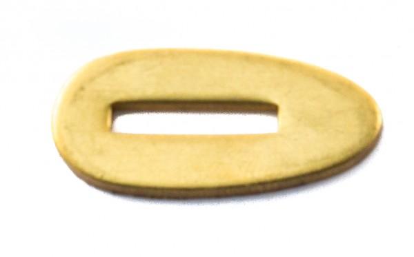 Passung Messing 15x31x2mm Fingerschutz - Schlitzmaß: 16x3mm