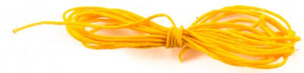 Leinengarn 1,5m gelb