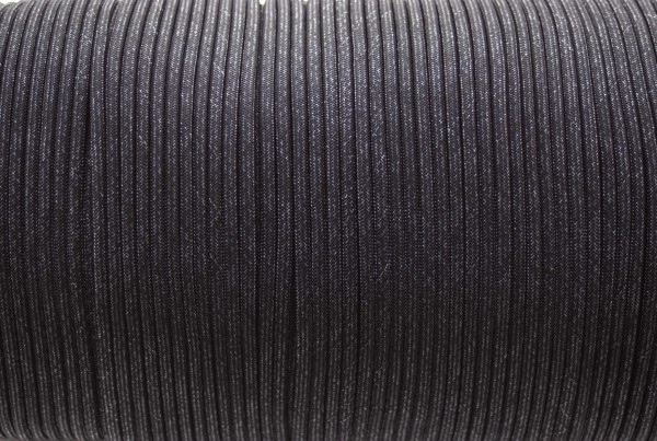Paracord 550 - 5m Fashion black (schwarz)