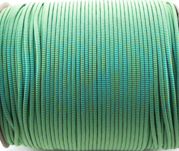 Paracord 550 - 5m Blau / Gelb Shockwave