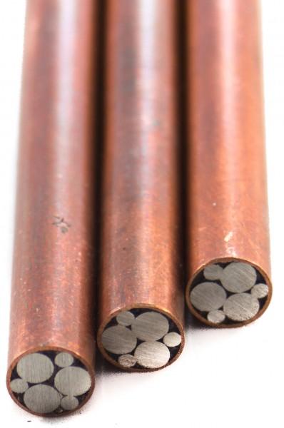 Mosaik-Pin, 6mm Kupfer