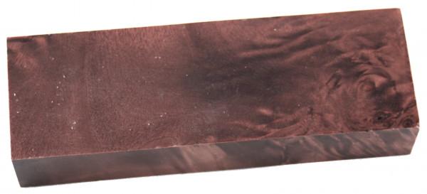 Raffir® stabilisiertes geflammtes Pappelholz braun