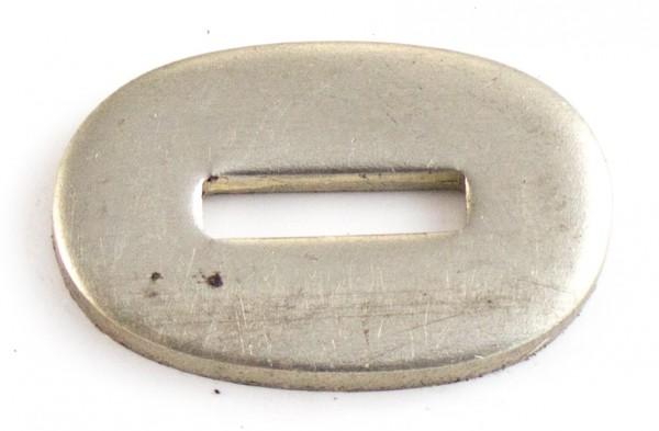 Passung Neusilber 19x30x3mm - Schlitzmaß: 13x3,2mm