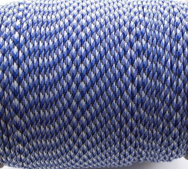 Paracord 550 - 5m Blau camo