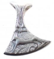 Anhänger Die Gehörnte Silber